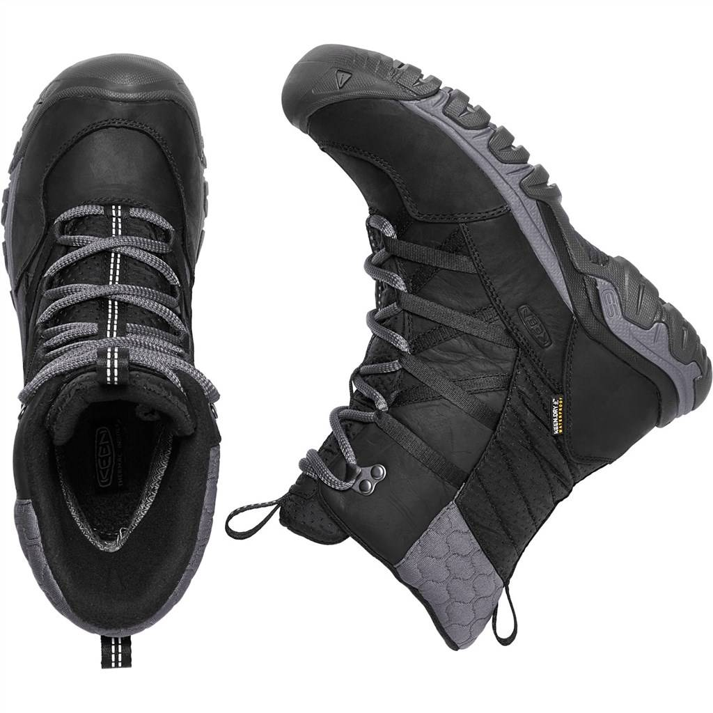 KEEN - W Hoodoo III Lace Up - black/magnet