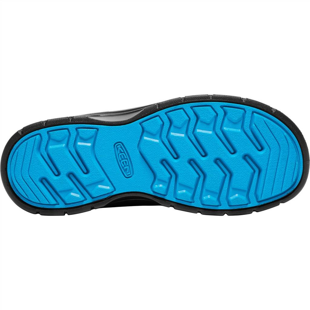 KEEN - Y Hikeport Mid Strap WP - black/blue jewel
