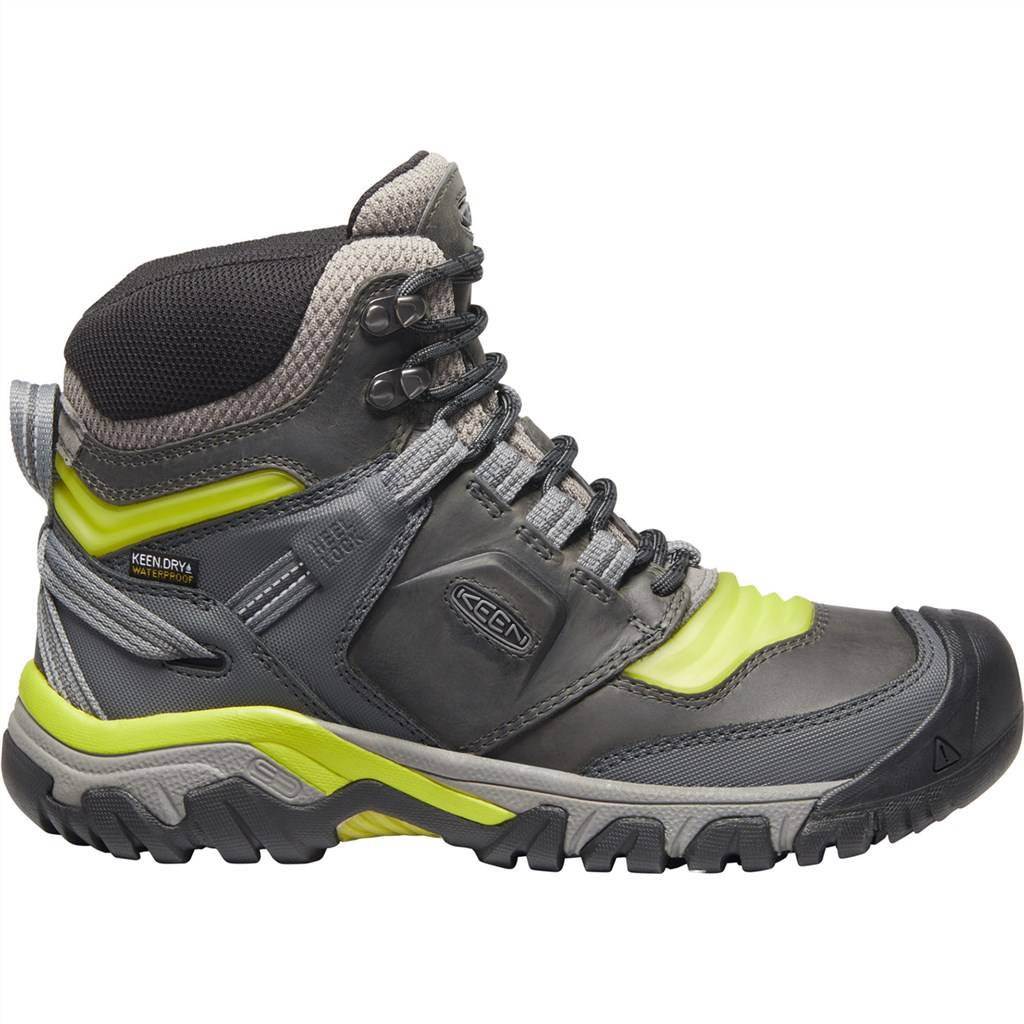 KEEN - M Ridge Flex Mid WP - steel grey/evening primrose