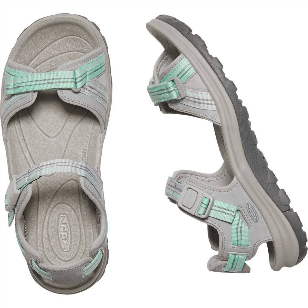 KEEN - W Terradora II Open Toe Sandal - light gray/ocean wave