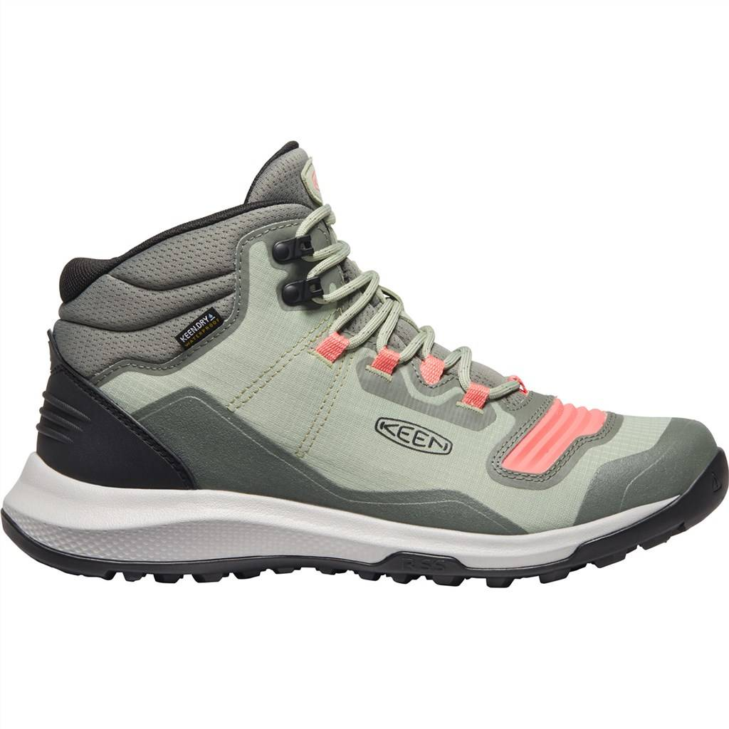 KEEN - W Tempo Flex Mid WP - castor grey/dubarry