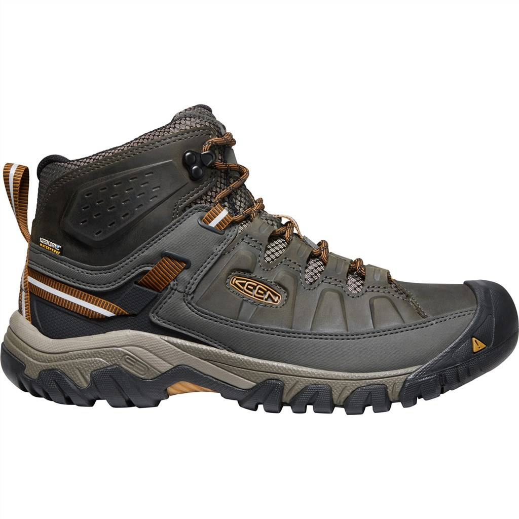 KEEN - M Targhee III Mid WP - black olive/golden brown
