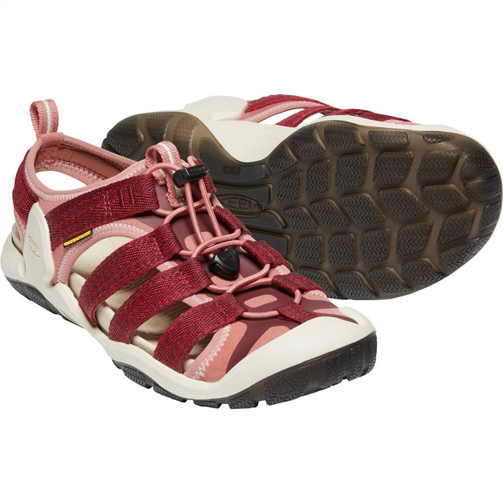 KEEN - W Clearwater II CNX - red dahlia/andorra