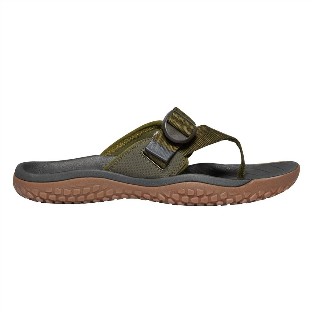 KEEN - M Solr Toe Post - dark olive